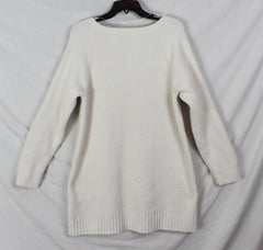 Cute Soft Surroundings M L size Tunic Sweater Ivory