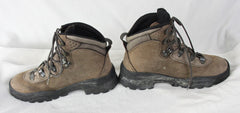 Saloman Womens Boots size 7 Brown Hiking Outdoors All Season Ankle Lace up Weekend Shoes