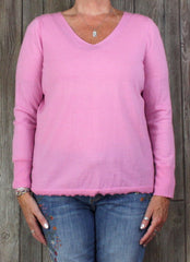 Talbots 1x size Pink Sweater Top Womens Lightweight Career Casual Plus