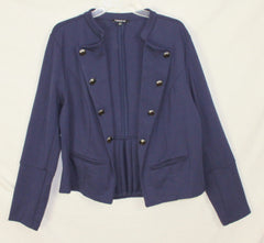 Cute Torrid 2 2x size Navy Blue Military Band Style Jacket Blazer