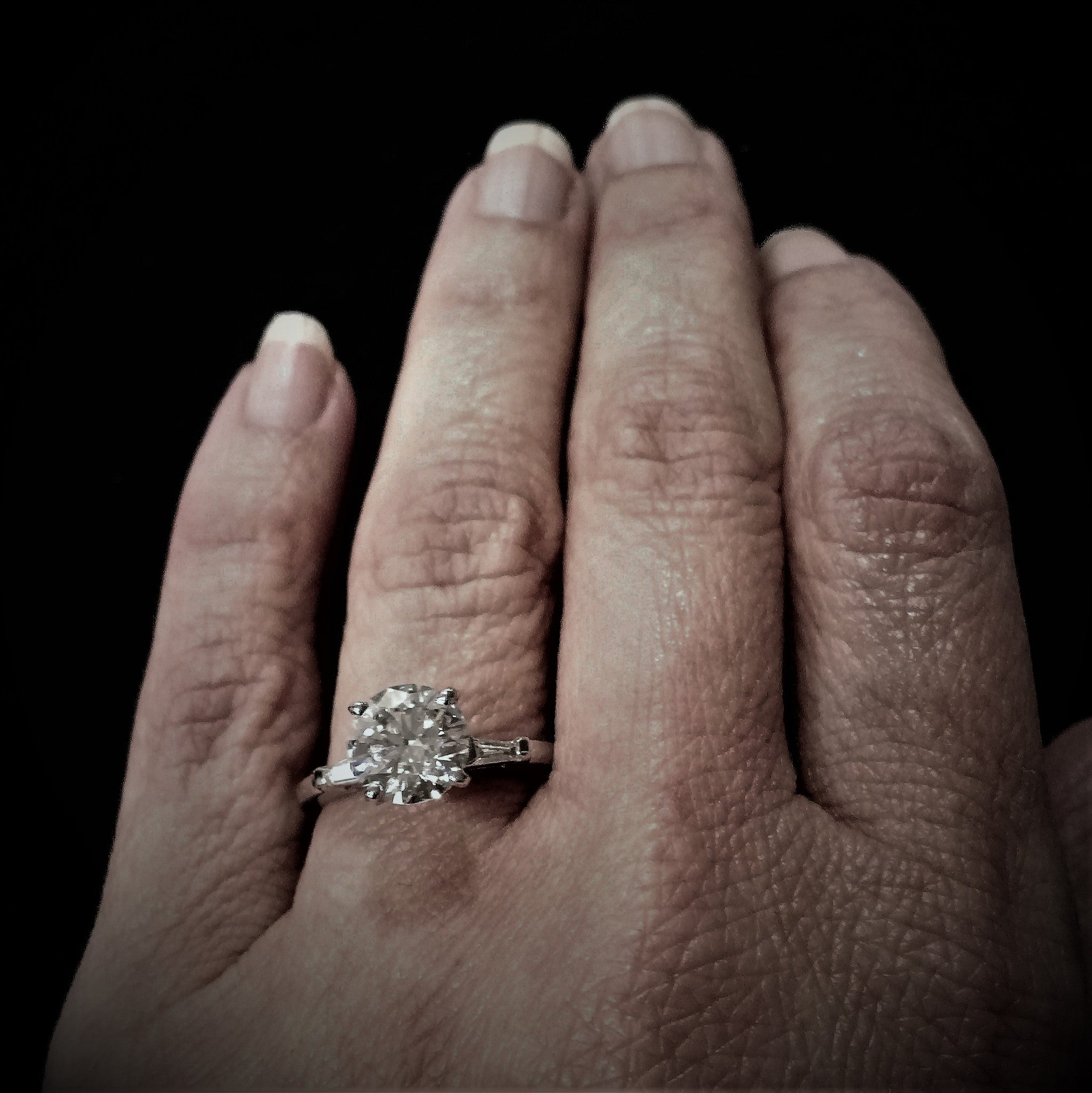 a larger to size engagement rings ring topic bit your than are actually tend marquise me carat they show diamonds look