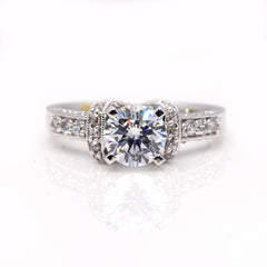 Special Order For Grant A Matching Wedding Band To Engagement Ring # 73044