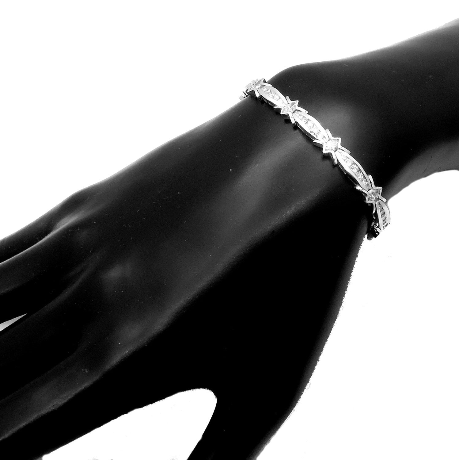 4.85 Carat Diamond Tennis Bracelet