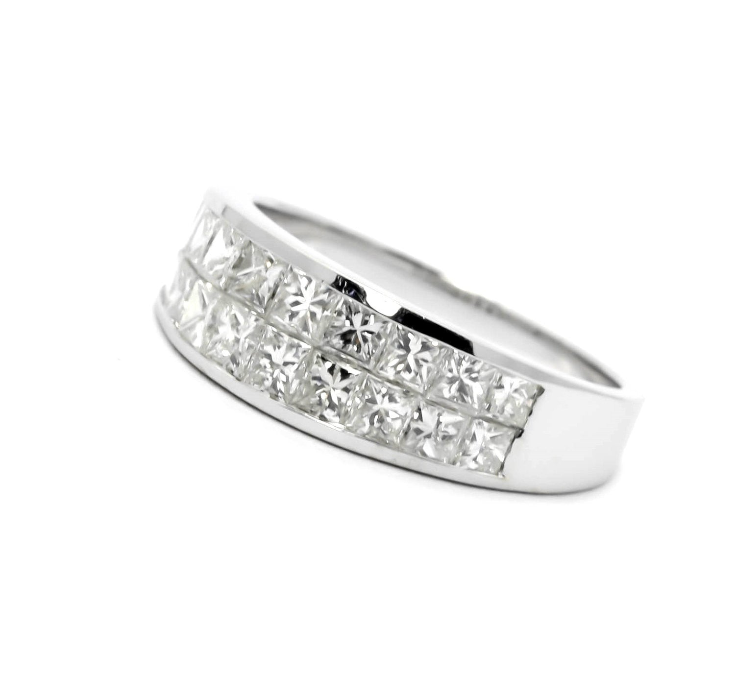 bands anniversary princess eternity rings infinity diamond ester international cut band wg matching diamonds brisbane