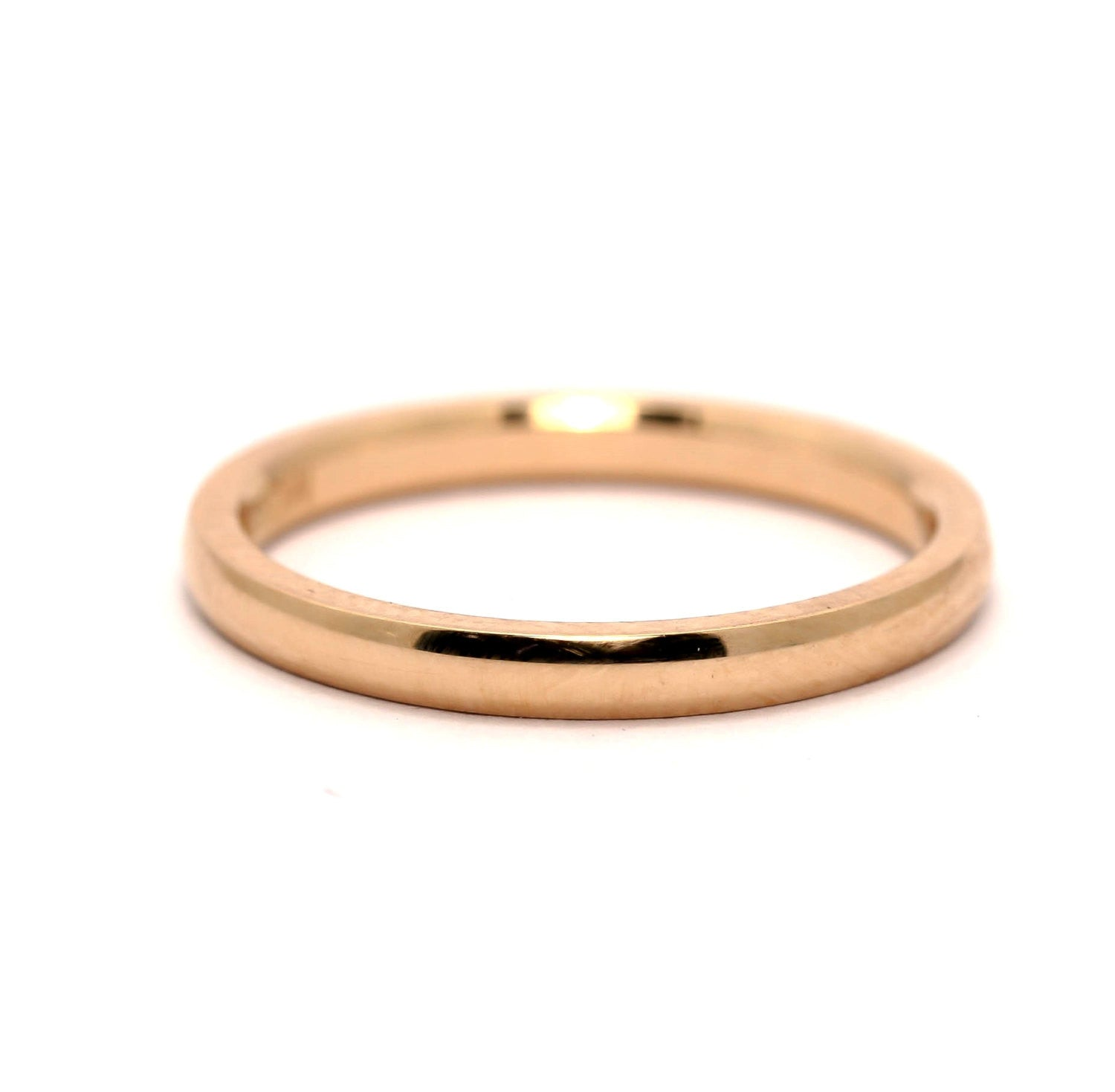 Wedding Band, Eternity, Stackable Ring in14k Rose,  White or Yellow Gold - M2015WB