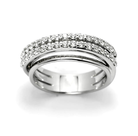 Unique Diamond Wedding Band/Cocktail Band,14k Rose Gold, White Gold,Yellow Gold, Platinum, .67 Carats Diamonds - Y11664