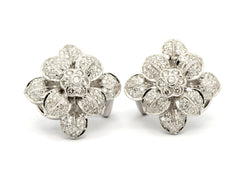 Eight Leaves Diamonds Earrings