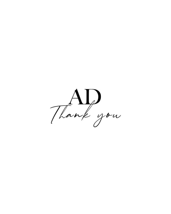 AD Thank You...September 2020