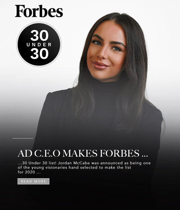 30 UNDER 30: AD CEO MAKES FORBES LIST