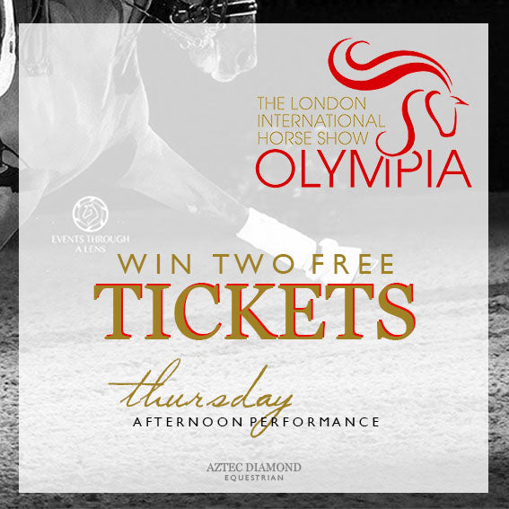Win tickets to Olympia - The London International Horse Show