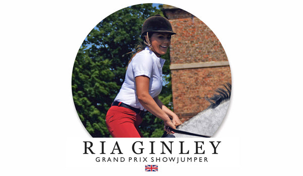 Blog Take Over 03. Ria Ginley - Grand Prix Show Jumper with Olympic Foal on the way!