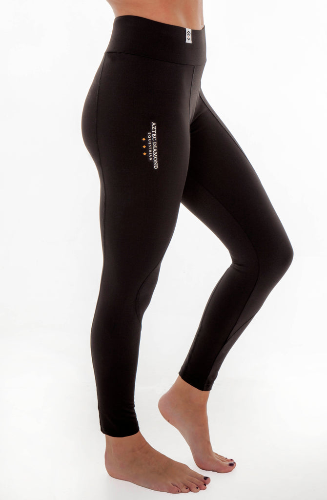 New Technical Stretch Leggings Updates Aztec Diamond