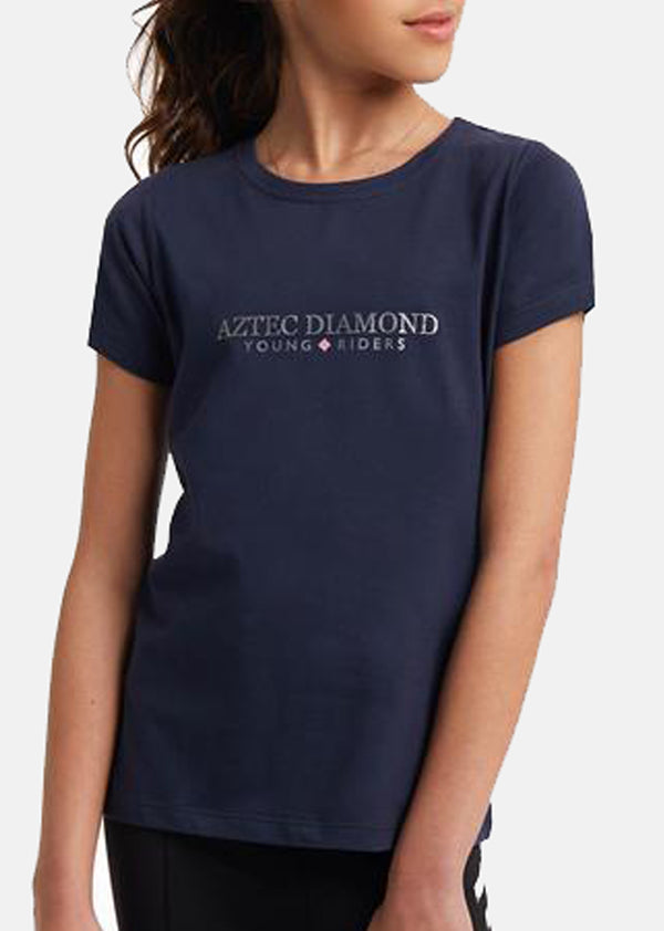 Outlet Young Riders Navy T-Shirt