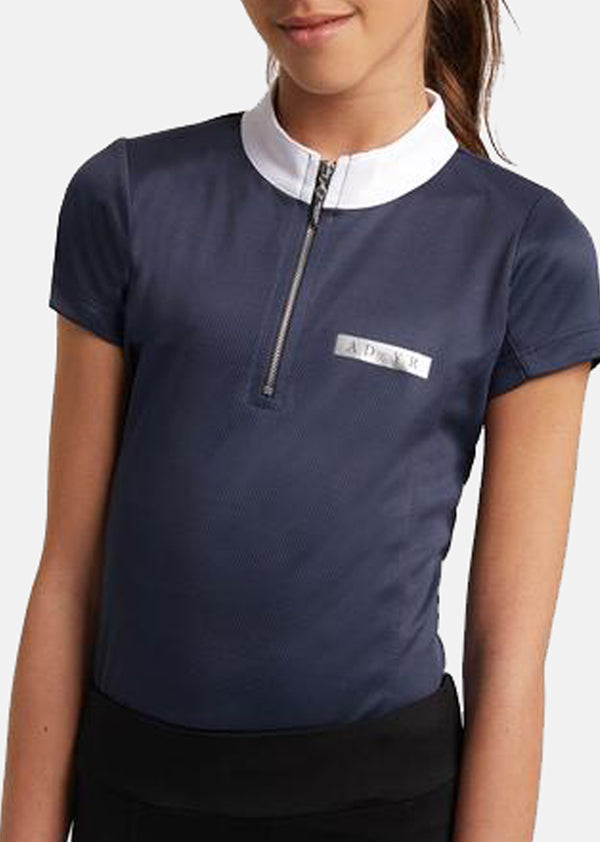 Outlet Young Riders Navy Show Shirt