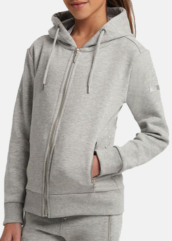 Outlet Young Riders Grey Full Zip Hoodie