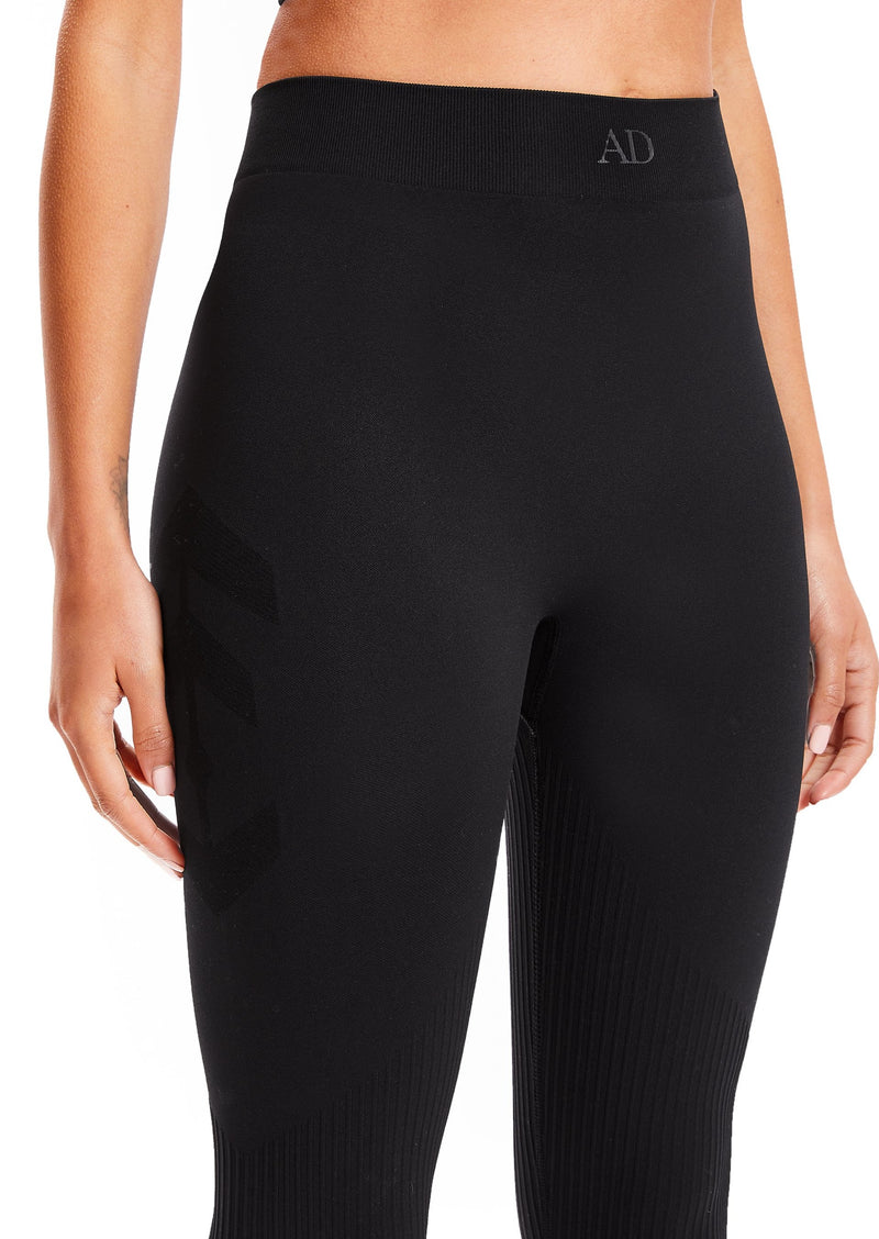 Black 3D Lounge Leggings