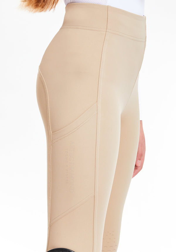 Young Riders Beige PC Leggings