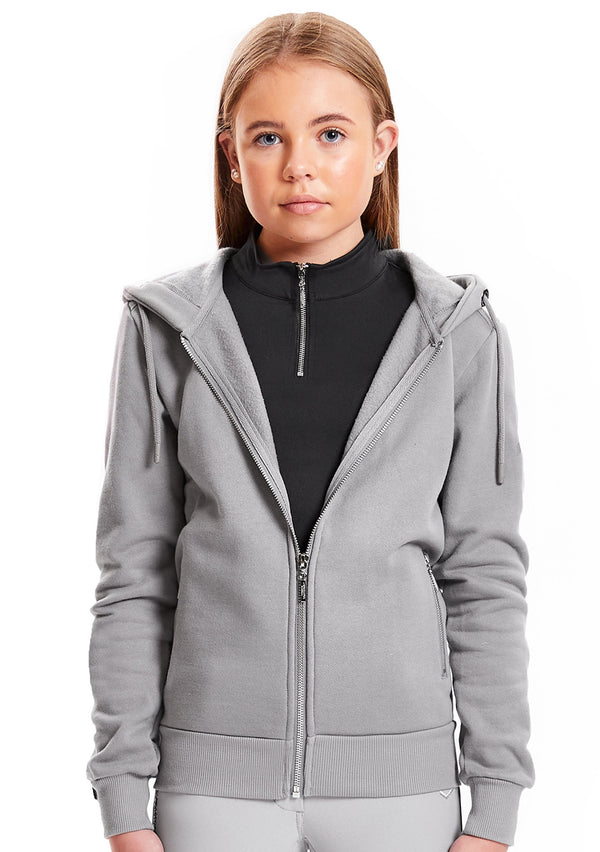 Young Riders Grey Full Zip Hoodie