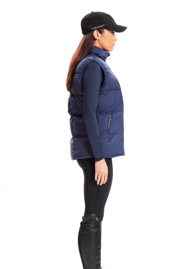 Midnight Blue Luxe Gilet