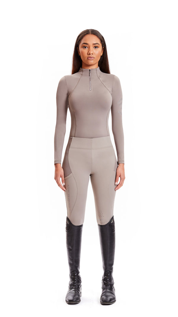 Taupe Riding Leggings