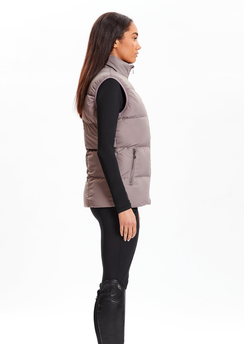 Taupe Luxe Gilet