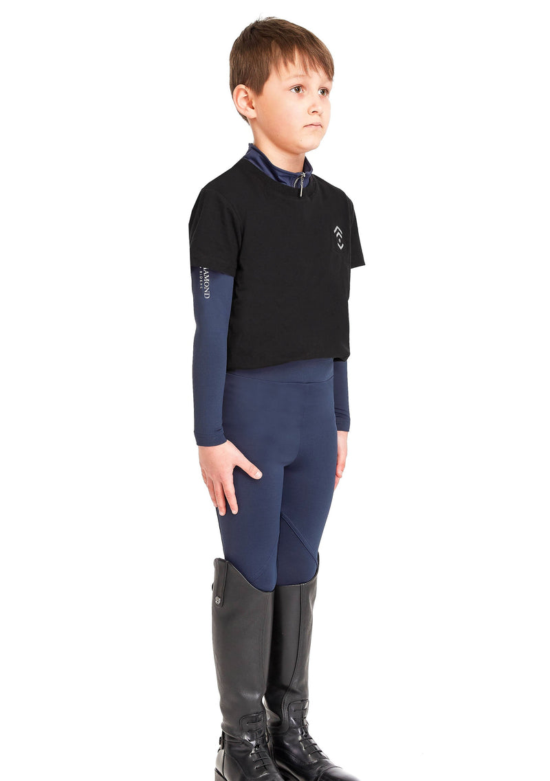 Young Riders Navy Leggings