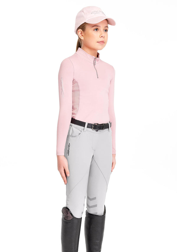 Young Riders Grey Breeches