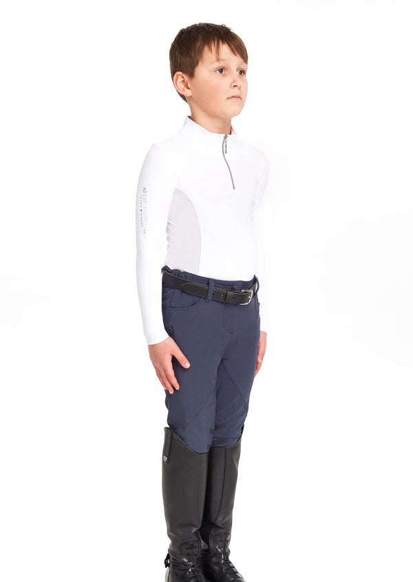 Young Riders Navy Breeches