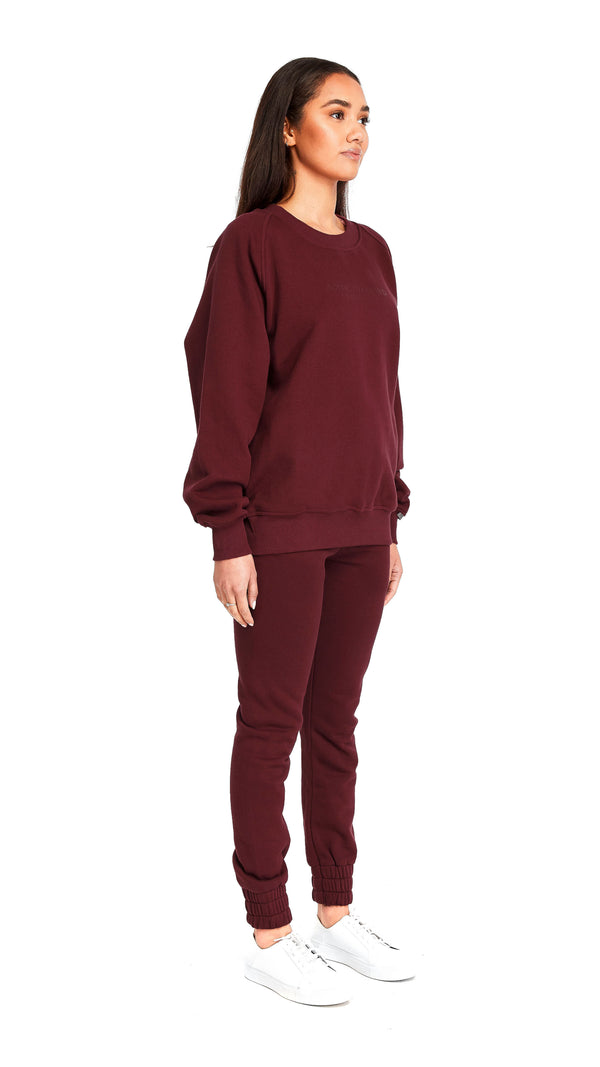 Burgundy Sweatpants