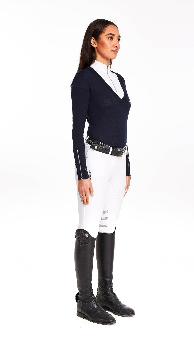 Navy Show Sweater