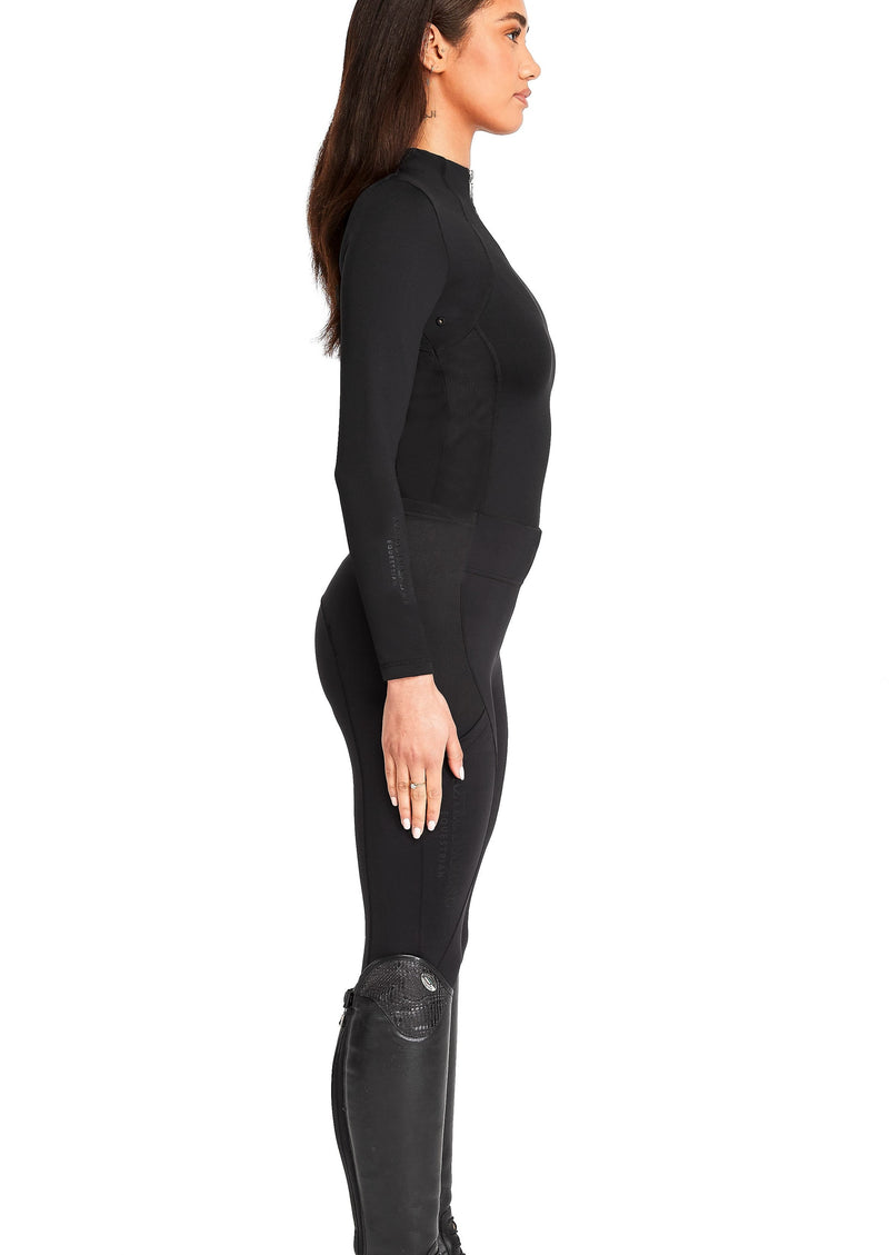 Black Riding Leggings