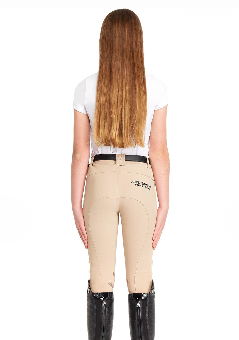 Young Riders Beige Breeches