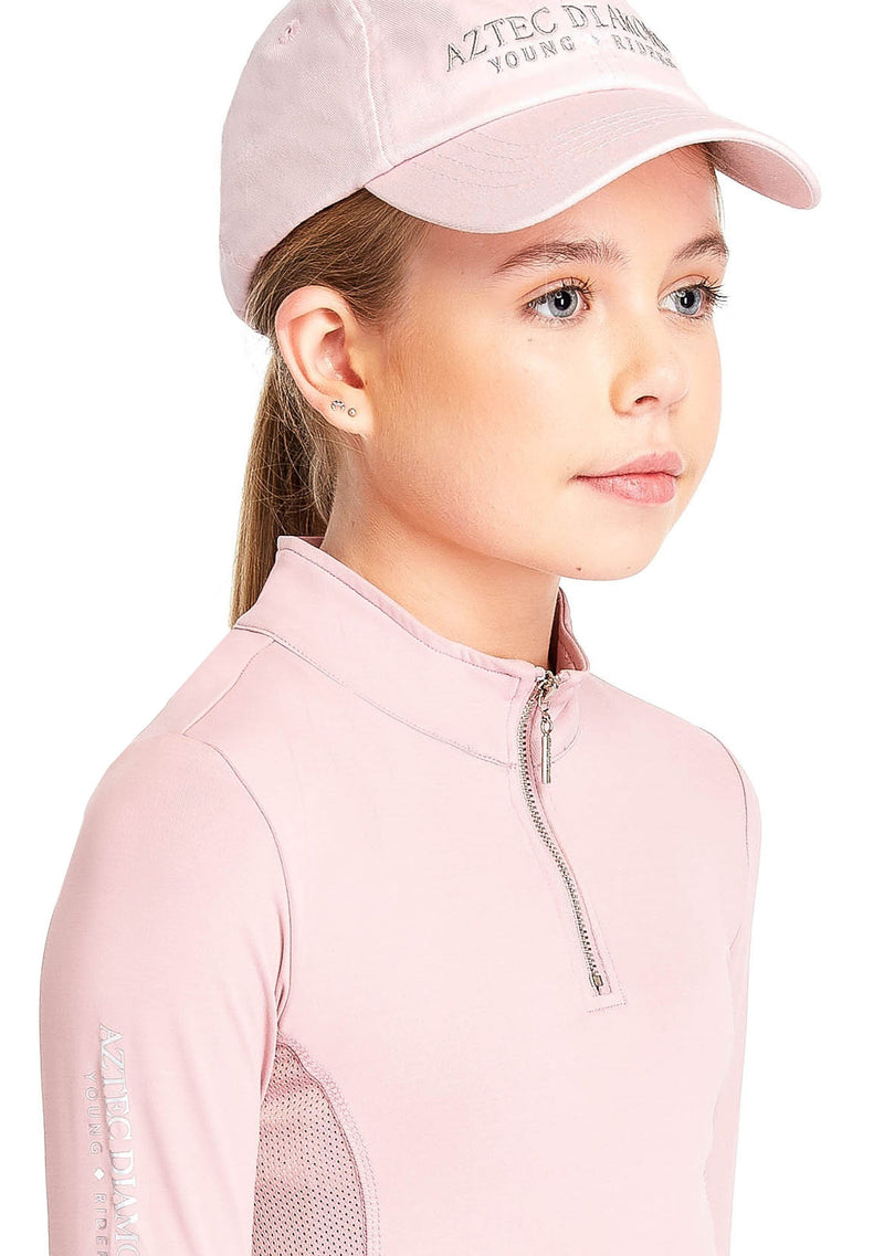 Young Riders Pink Base Layer