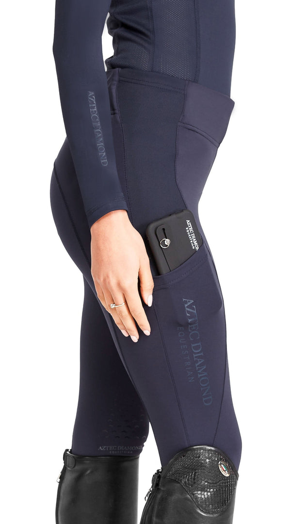 Navy Riding Leggings