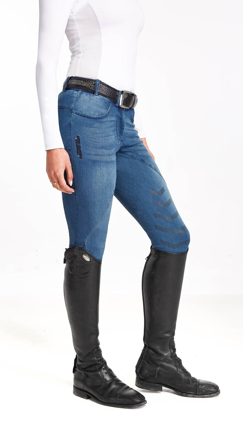 Blue Denim Breeches