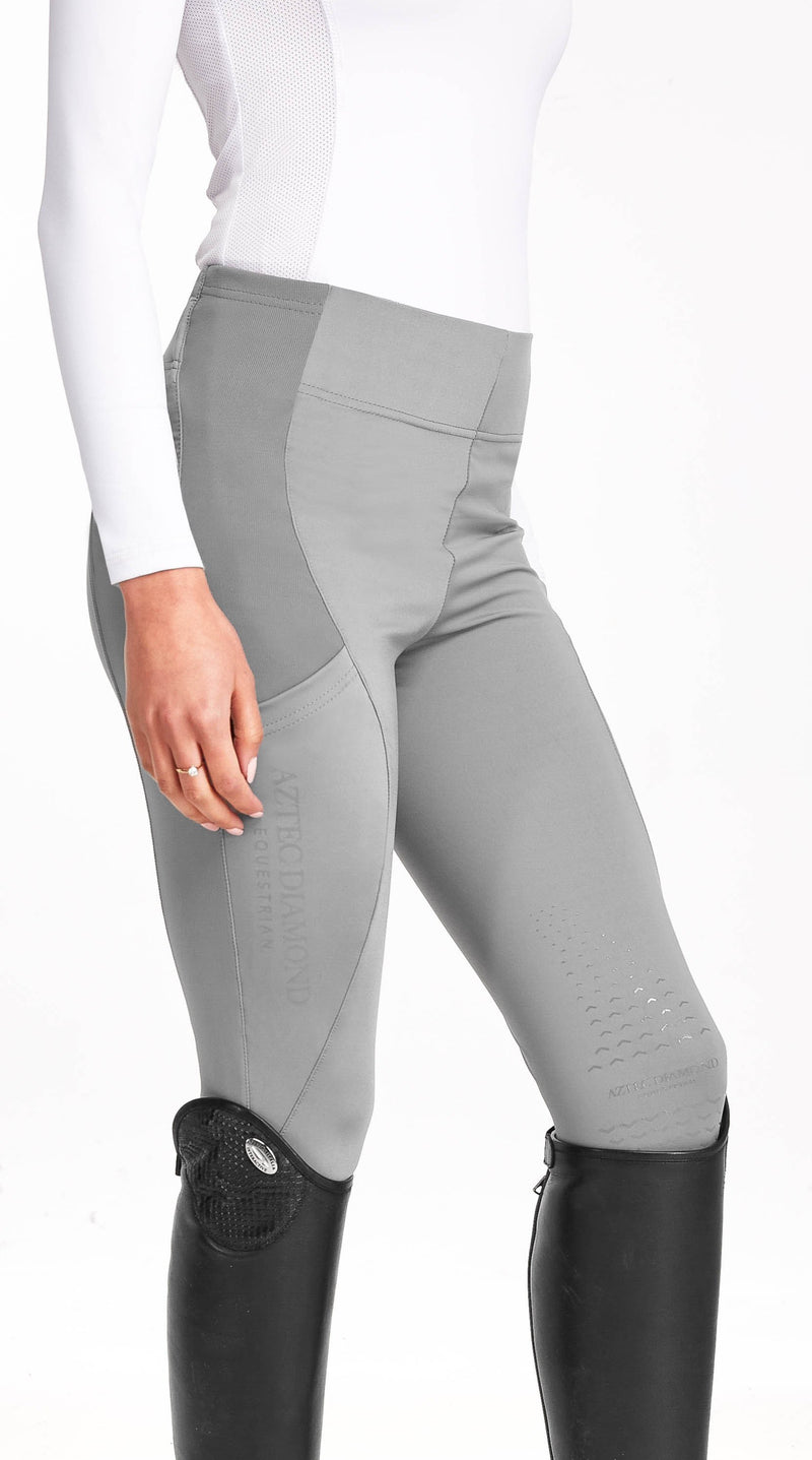 Grey Riding Leggings