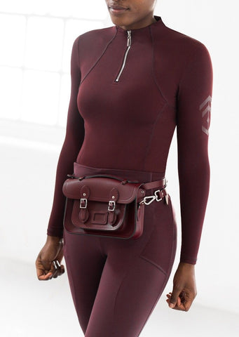 Burgundy Technical Stretch Base Layer