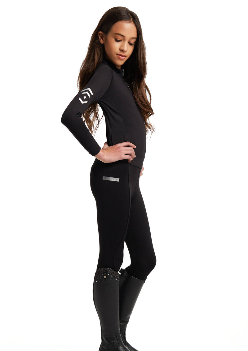 Outlet Young Riders Black Base Layer