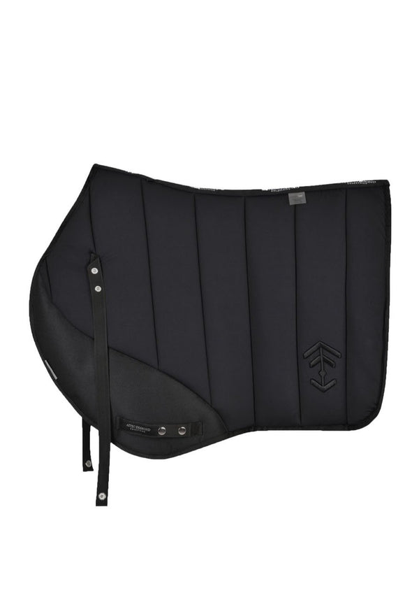 Black Saddle Cloth