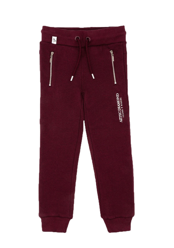 Young Riders Burgundy Sweatpants