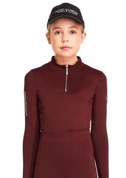 Young Riders Burgundy Base Layer