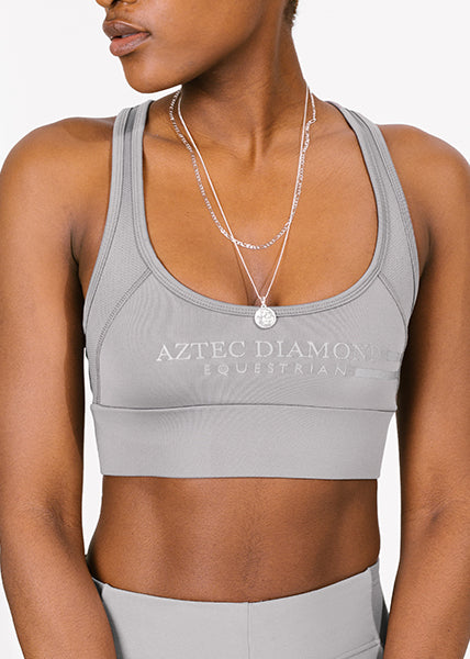 Outlet Grey Sports Bra