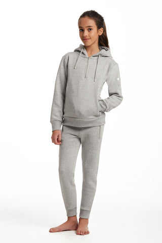 Outlet Young Riders Grey Half Zip Hoodie