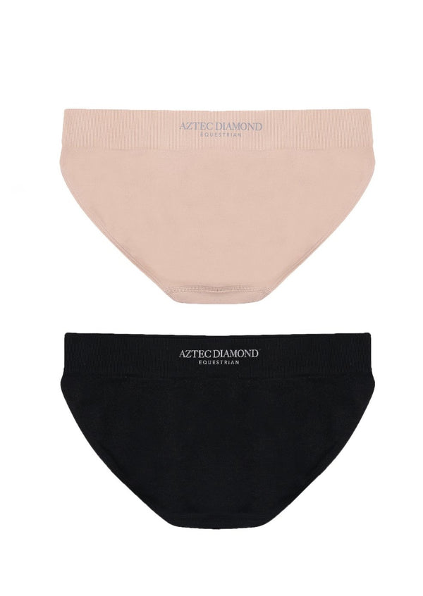 Black/Nude 3D Full Brief Pack