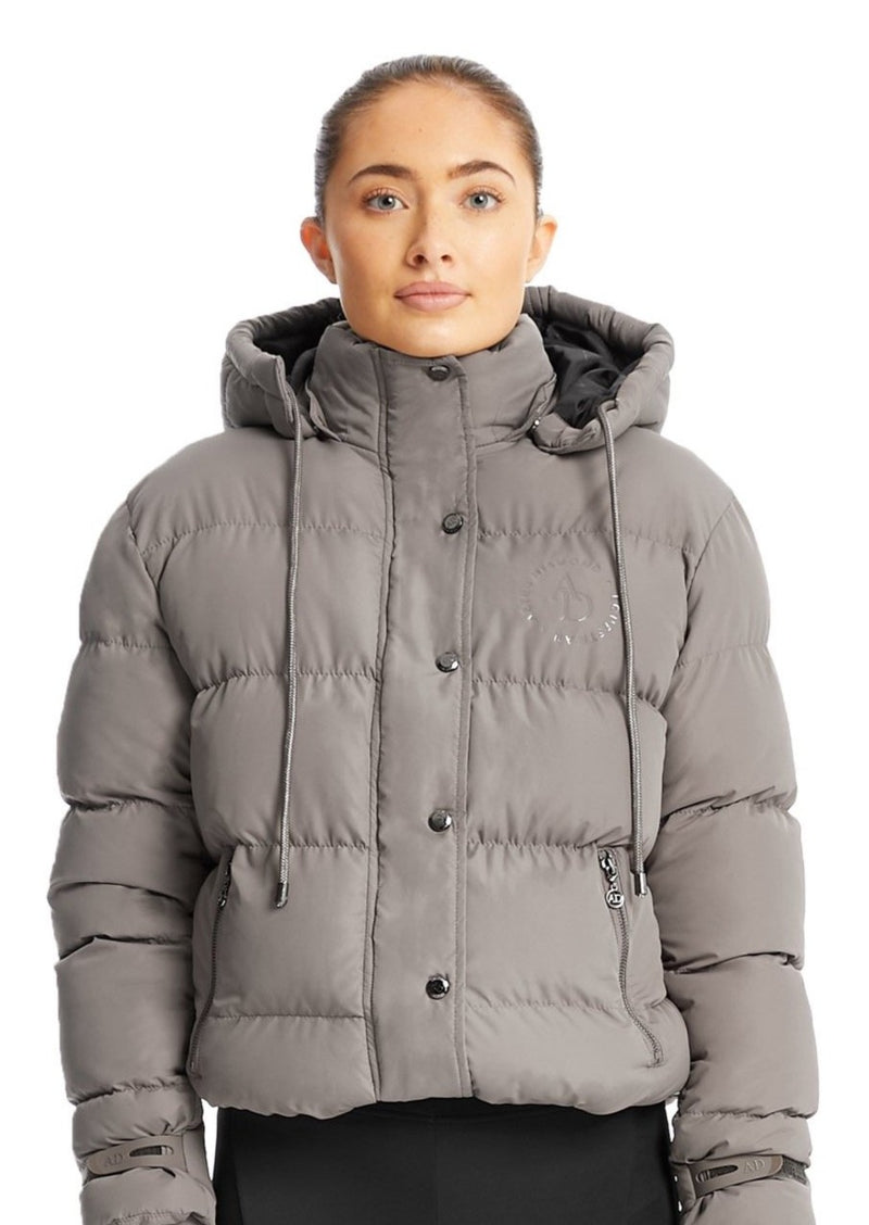 Taupe Puffer Jacket