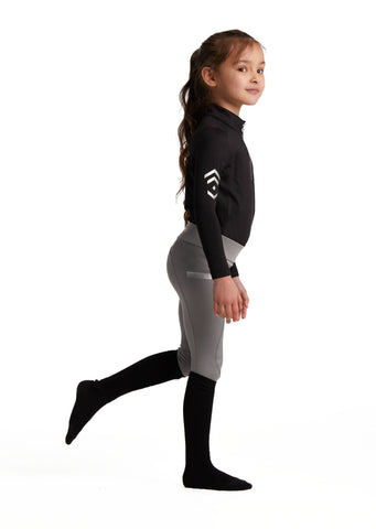 Young Riders Black Base Layer