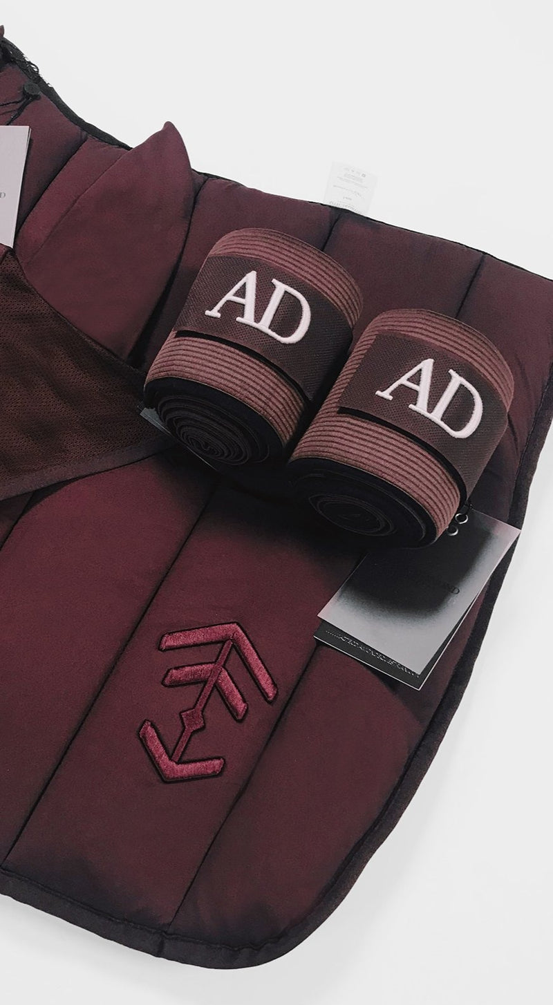 Burgundy Bandages