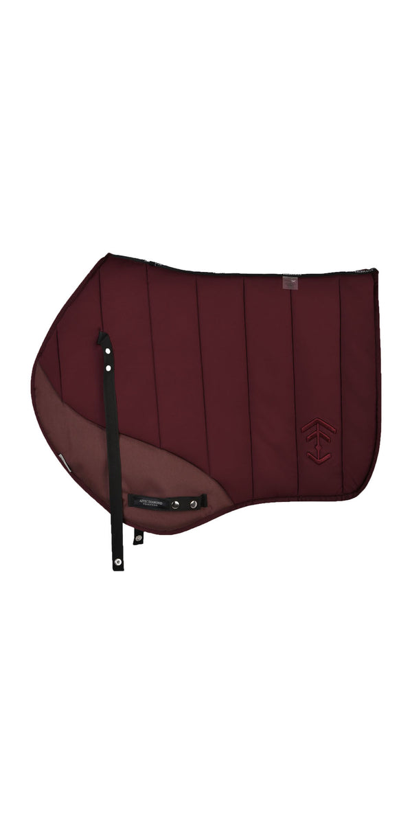 Burgundy Saddle Cloth