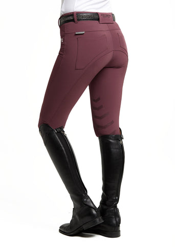 Burgundy Technical Breeches