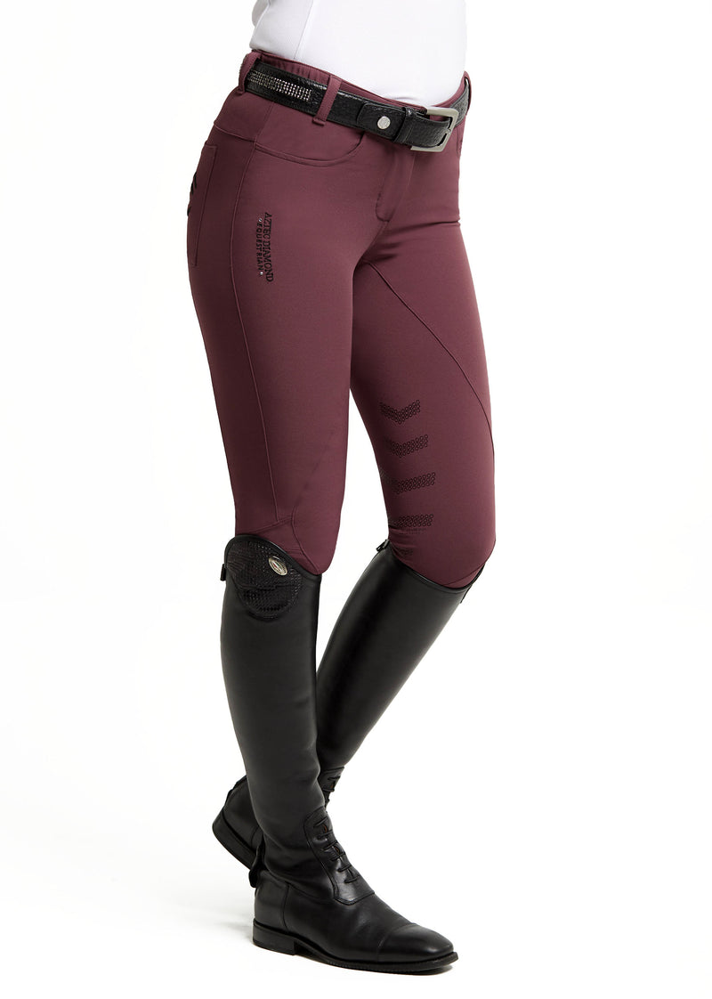 Burgundy Breeches